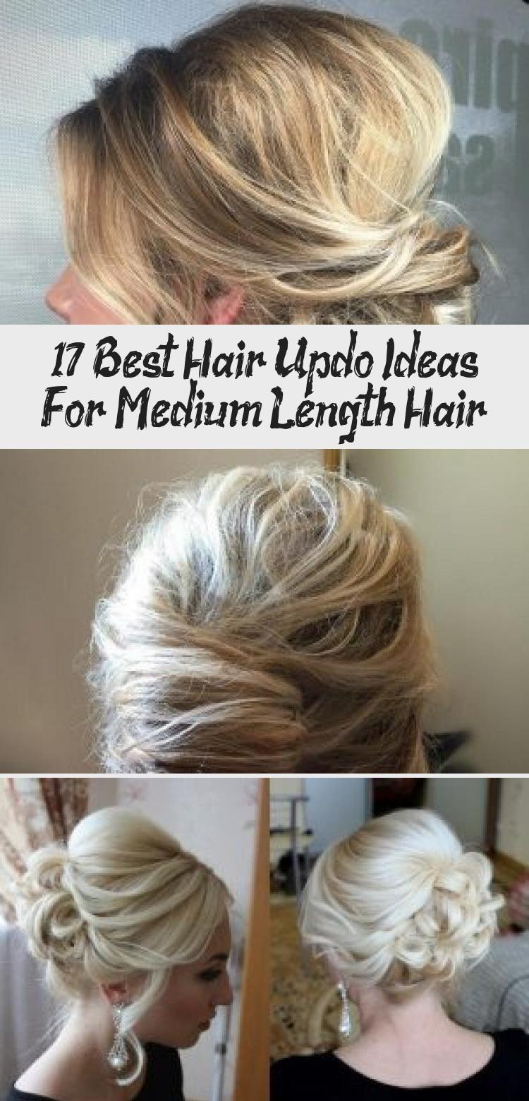17 Best Hair Updo Ideas For Medium Length Hair – Hair Styles