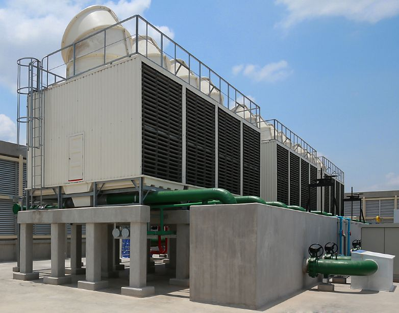Increase The Efficiency Of A Water Cooling Tower Cooling