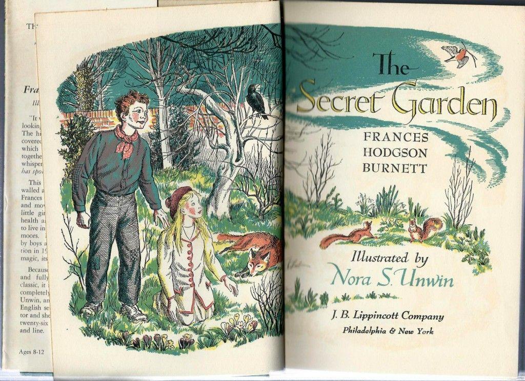 The Secret Garden by Frances Hodgson illustrated