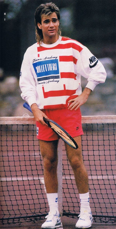 Tennis Buzz Tennis Clothes Andre Agassi Tennis Fashion