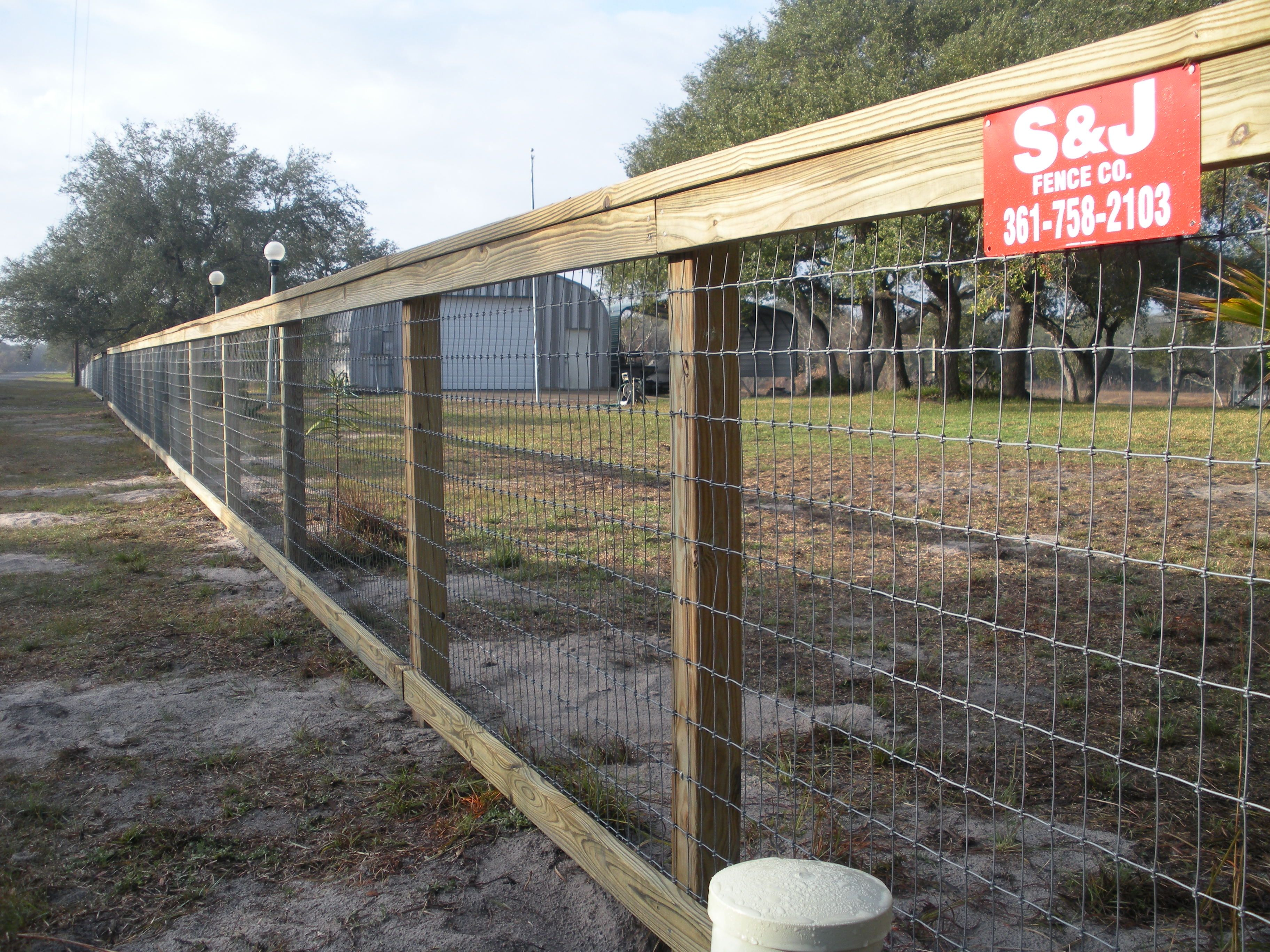 wire rail fence - Google Search | Fencing | Pinterest | Rail fence ...