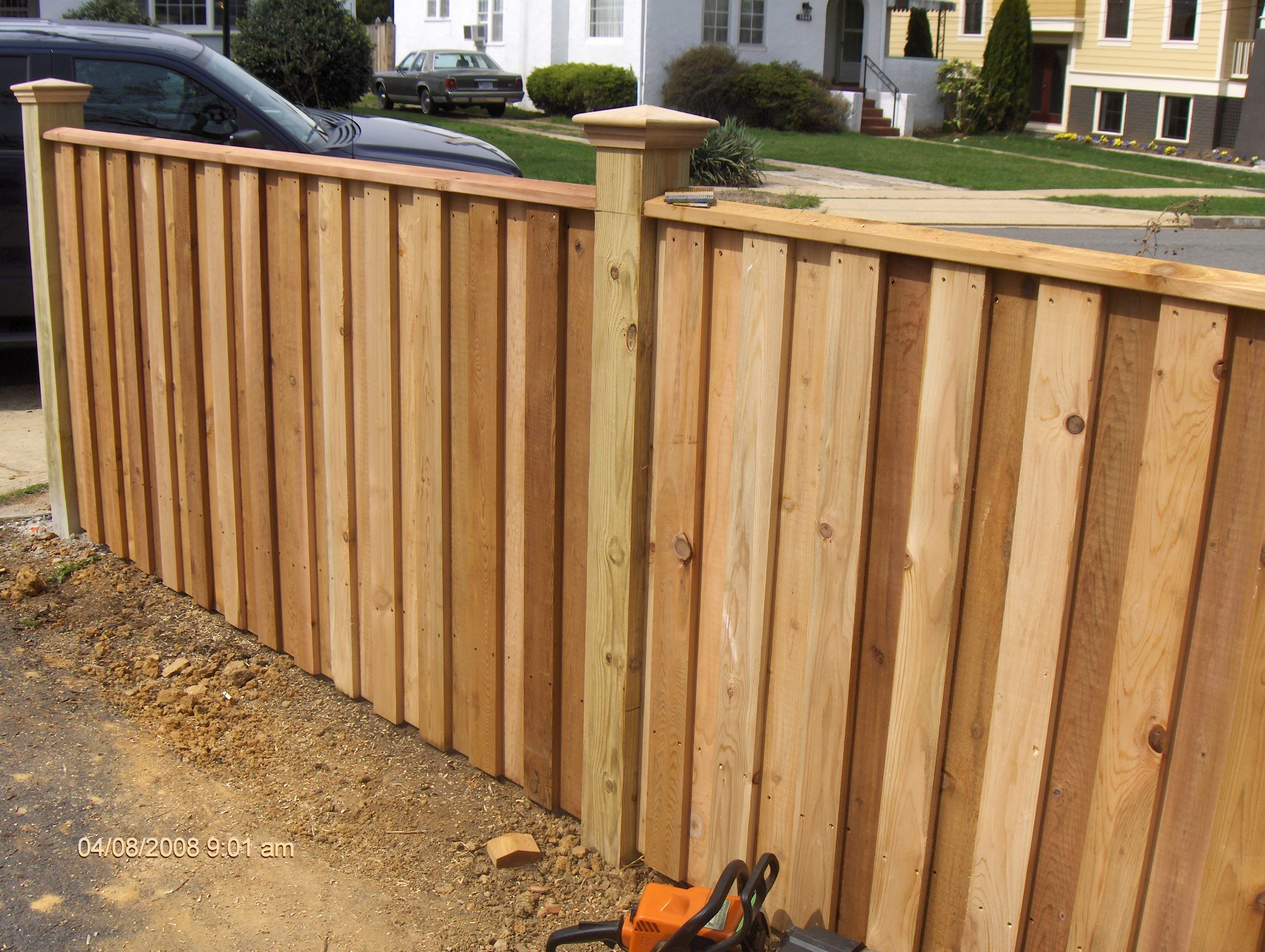 Wood Privacy Fence 6ft Privacy Fence Large Privacy Fence Wood
