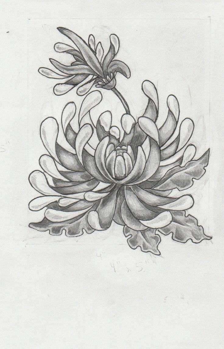 chrysanthemum tattoo Google Search Chrysanthemum