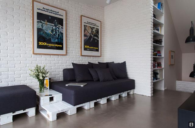 20 Idées Pour Transformer Des Palettes En Canapé
