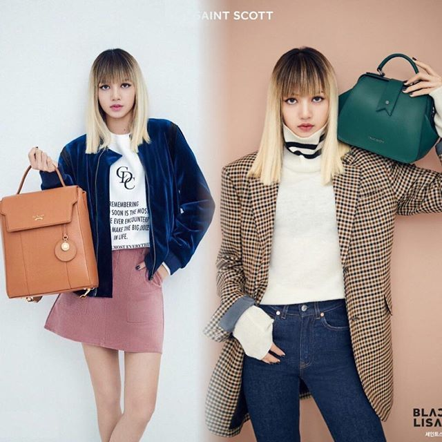 3a6eacbbb2 Handbags · Hand Bags ·  ENDORSEMENT  Lisa - BLACKPINK x Saint Scott London  —  Blackpink  Jennie
