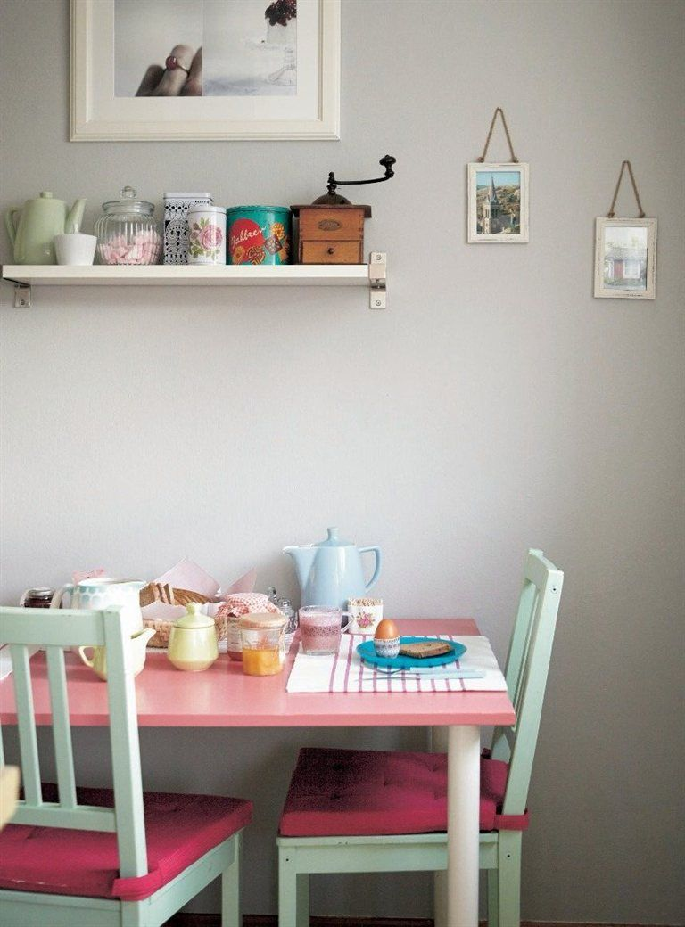 Colourful Kitchen Dining Area