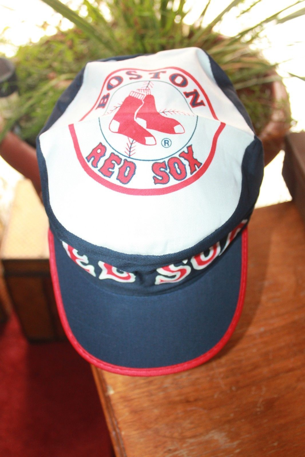 0c74583cb5e Boston Red Sox Hat MLB Painters Cap Vintage Rare New Old Stock From the 80s  please retweet