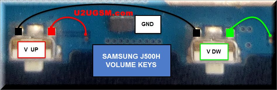 Samsung Galaxy J5 J500h Volume Up Down Keys Not Working Problem Solution Jumpers Problem And Solution Samsung Galaxy Samsung