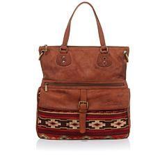 bc7184f18eddf4 Sheryl Crow Distressed Genuine Leather Hobo Bag | Handbags | Sheryl ...
