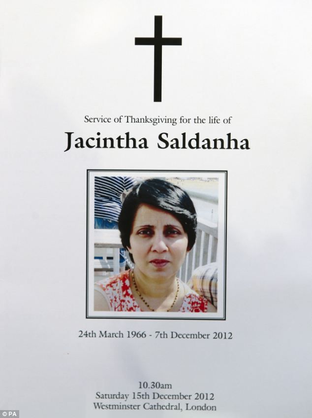 jacintha saldanha, the nurse who committed suicide after the royal