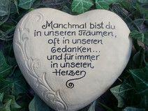 Grabschmuck, Gedenkstein, Herz,Grabstein | Good Morning