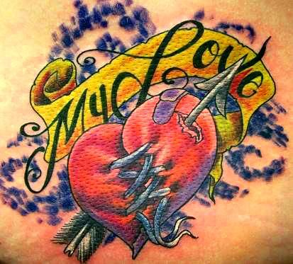 A Tattoo For A Mended Heart By Dw3d On Deviantart With Images