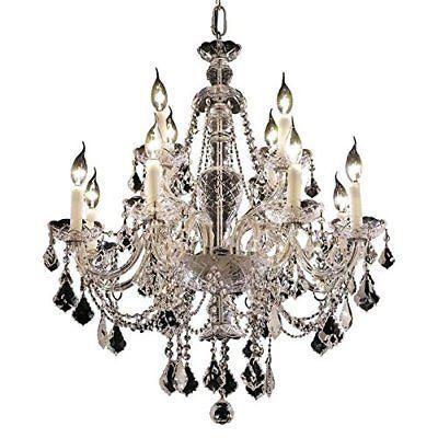 Elegant lighting alexandria 28 12 light royal crystal chandelier