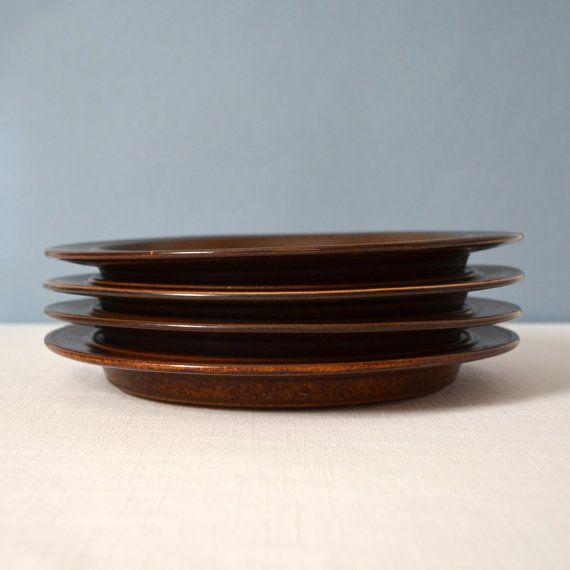 Vintage Ulla Procope Ruska Arabia of Finland Dinner Plate