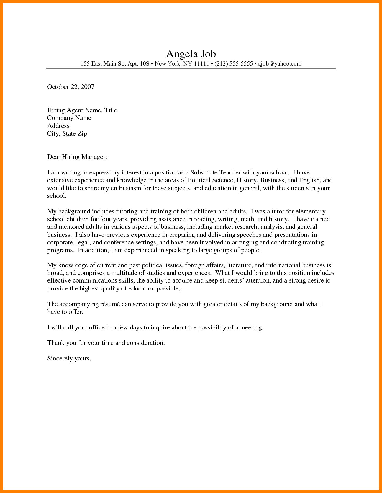 Special Education Cover Letter from i.pinimg.com