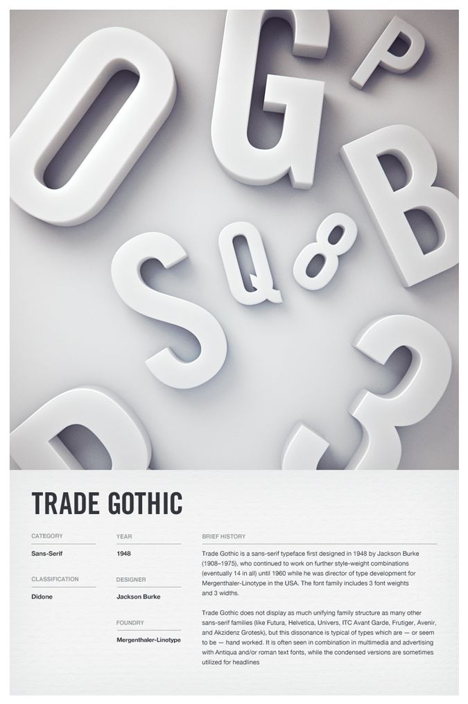 Type Posters | Woodhouse