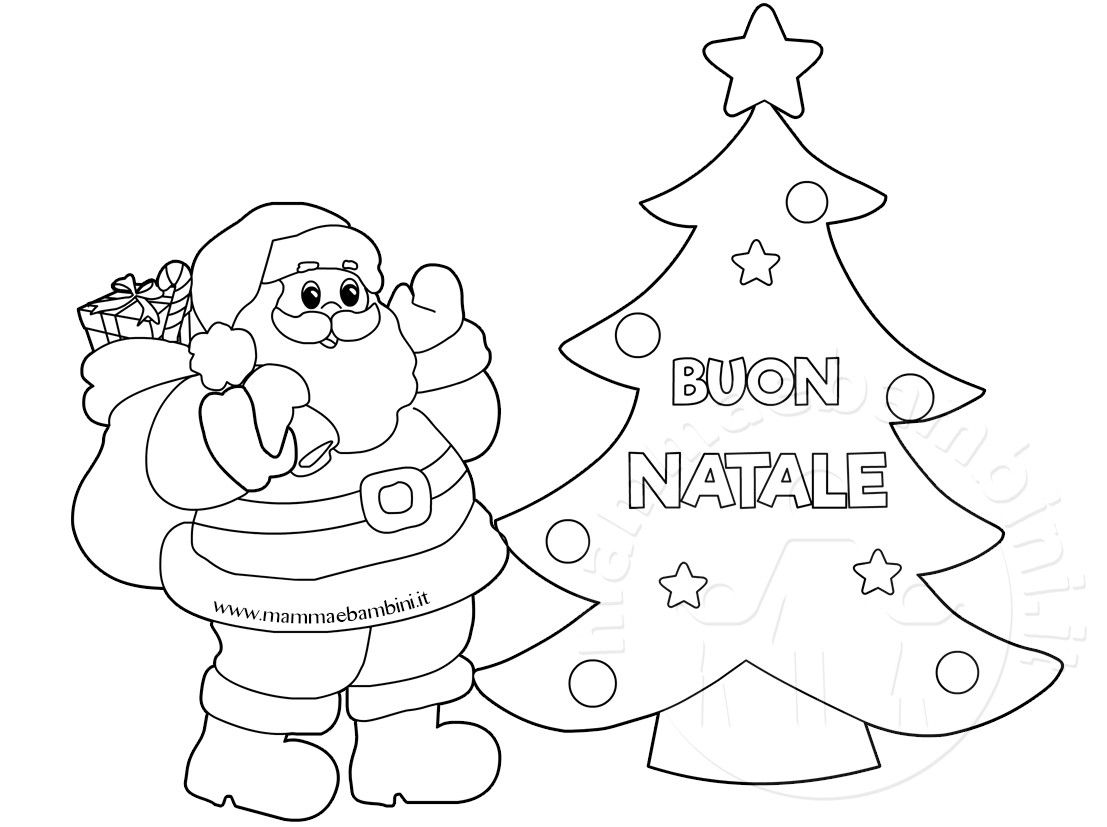 30 Disegno Disegni Babbo Natale Da Colorare Galleria Di Immagini