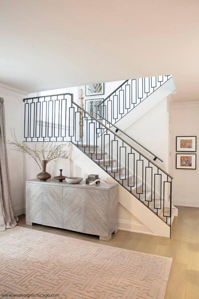 Best Interiors By Leo Designs Chicago Staircase Design 400 x 300