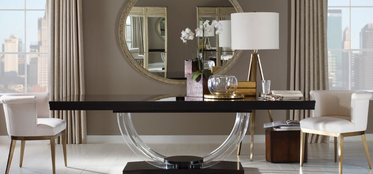 12 Brands at Sheffield Furniture & Interiors  Luxury dining room
