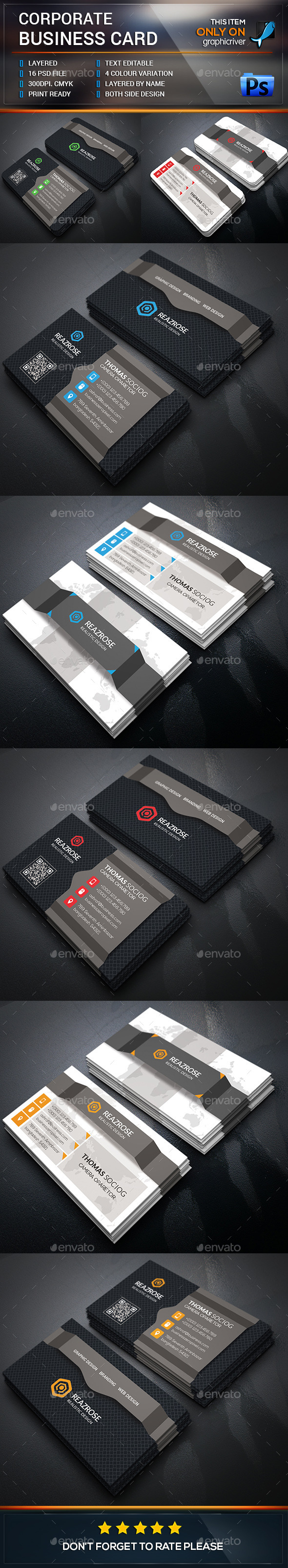 Corporate business card template design buy now http corporate business card template buy now reheart Choice Image