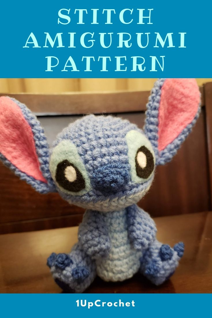Stitch crochet amigurumi A few notes before we begin -While creating this amigur...