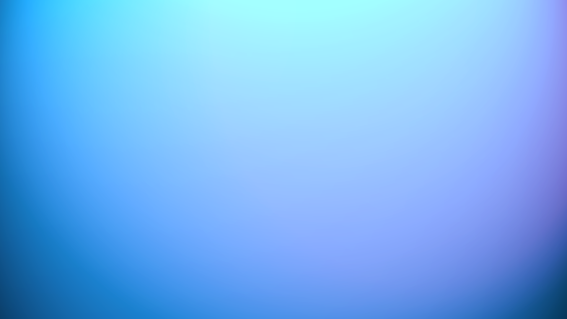 Blue White Gradient