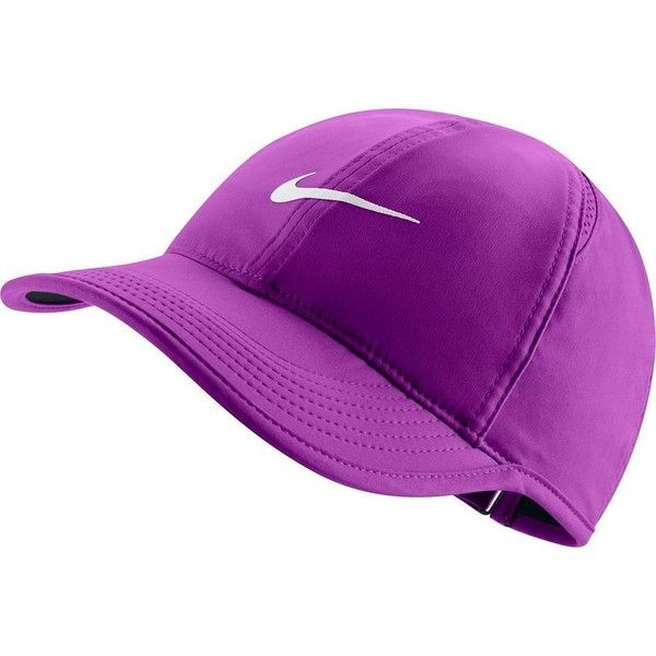 s nike featherlight dri fit hat purple 22