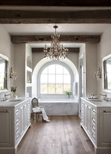 a lovely collection of transitional rooms