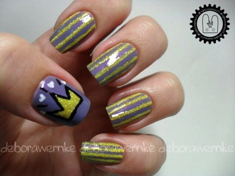 Nails For Crown Nail Designs Nailsproud - Crown Nail Design Gallery - Nail Art Design Simple Step By Step