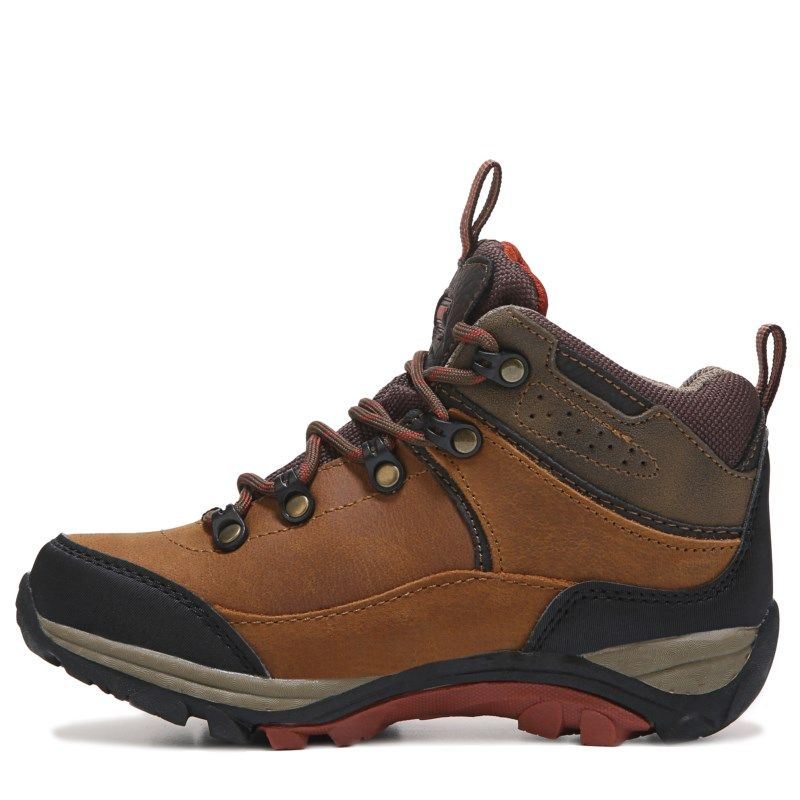 Khombu Kids' Jason Waterproof Boot Pre/Grade School Boots (Brown)