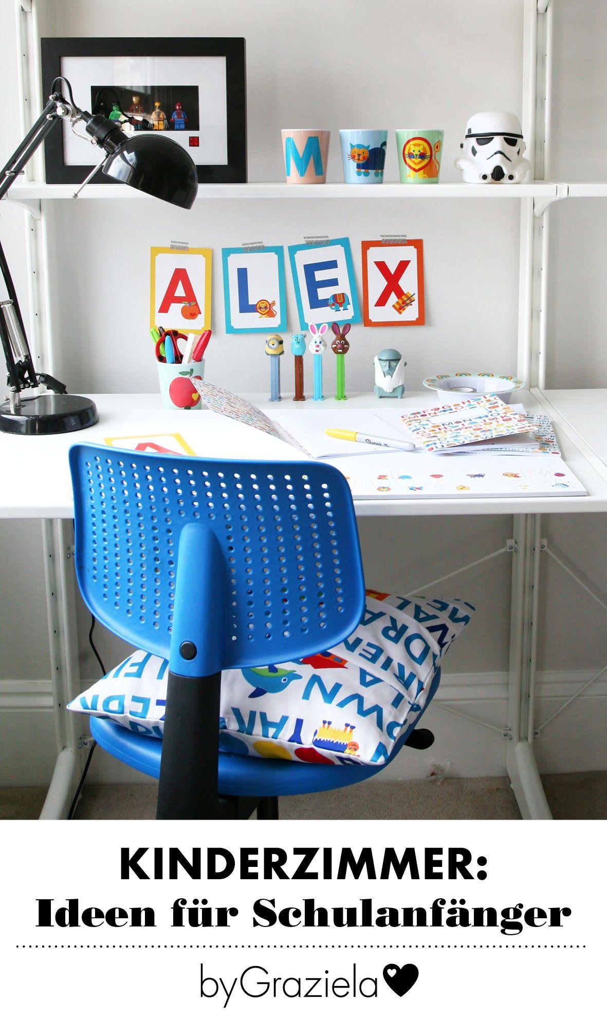 Kinderzimmer für Schulkinder Arbeitszimmer kinder