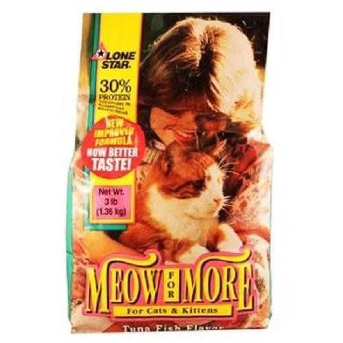 Meow For More Cat Food Tuna Fish Flavor Bag 3 Lb Learn More