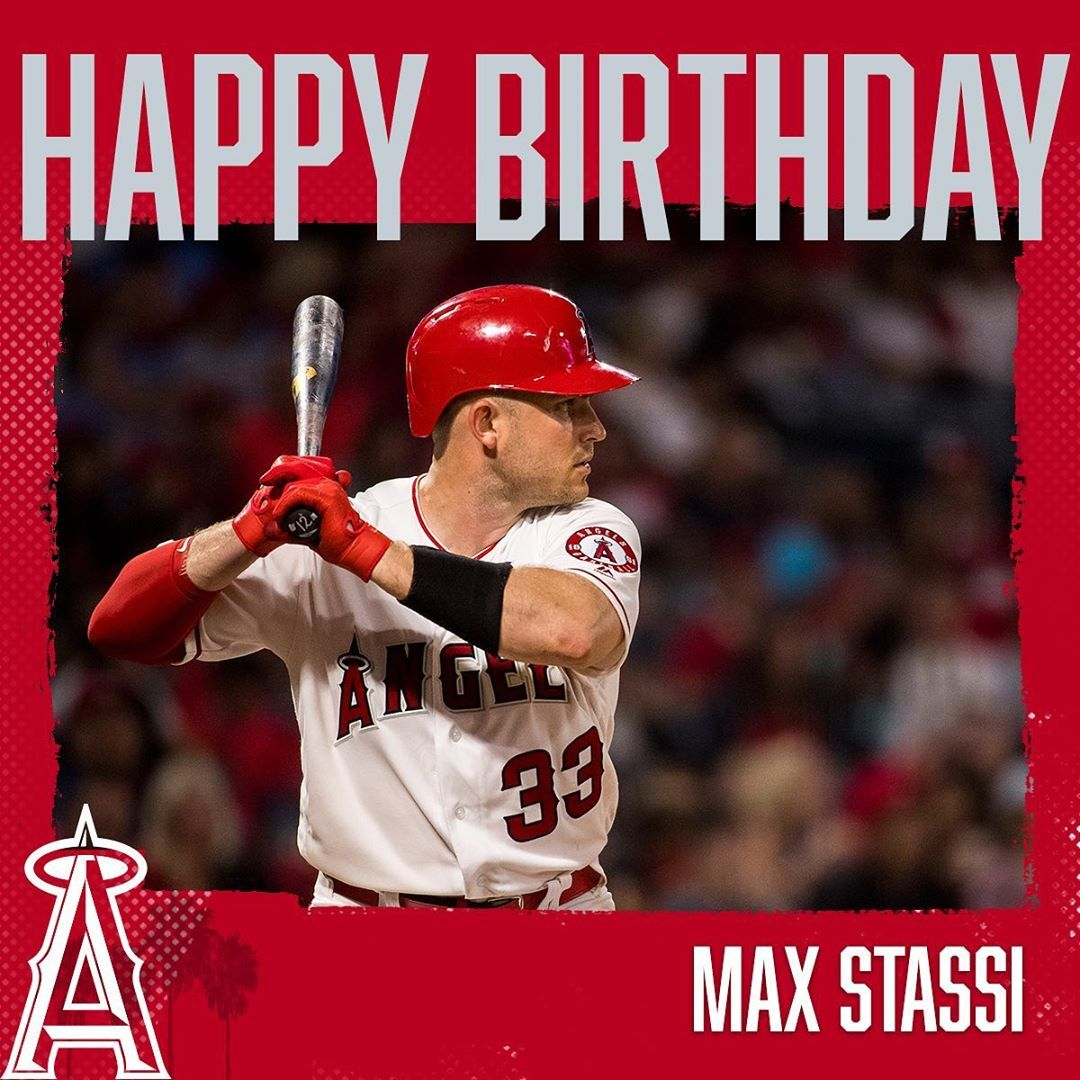 Los Angeles Angels Happy Birthday Maxstassi10 In 2020 Los