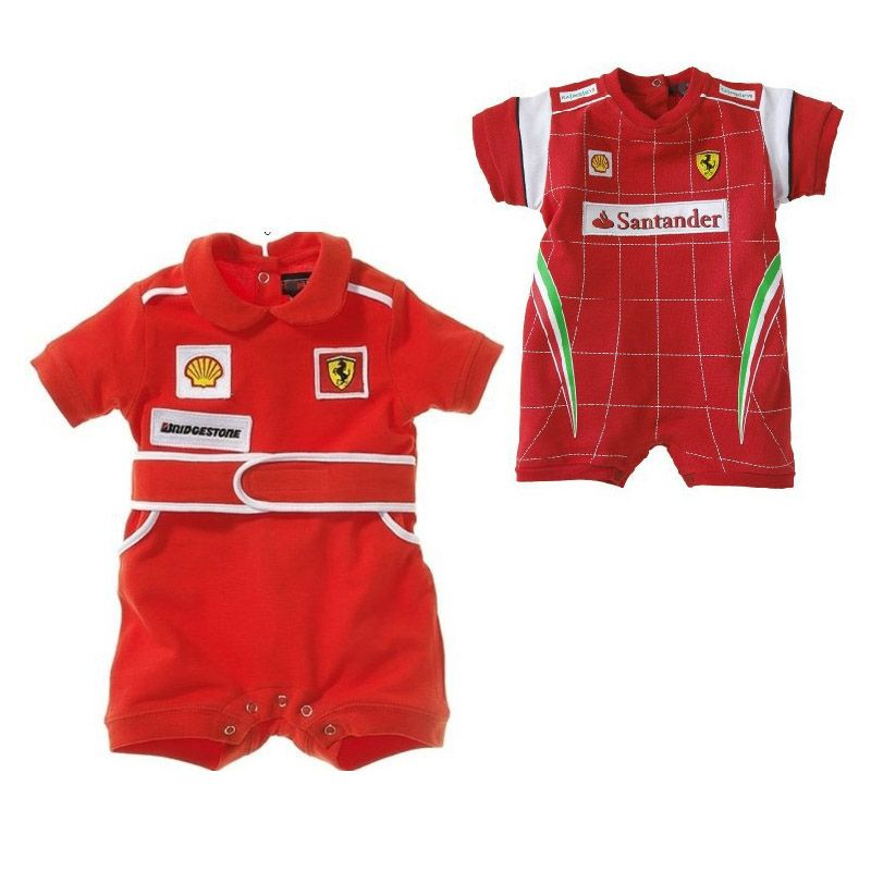 a90318016 Baby Rompers Racing Suit Red Car Clothes Children Newborn Rompers ...