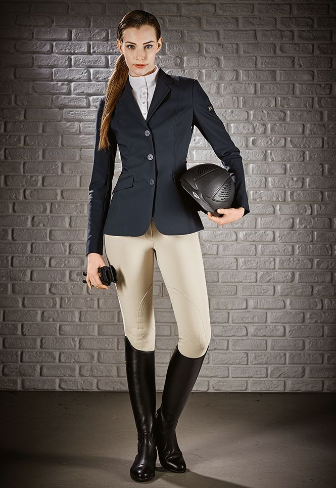 55920973f51738 Hunter competition Equiline jacket x-cool evo m00874 hayley Equestrian  Outfits, Equestrian Style,