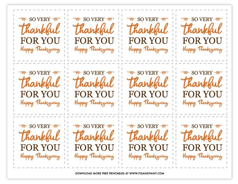 Instant Download Thanksgiving Pumpkins Tag Happy Thanksgiving Gift Tag Printable Thanksgiving Tag