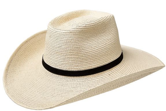 Guatemalan Standard Boxtop Hat. Natural beige-colored palm 6cf04a543c