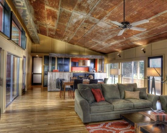 Corragated Tin Design Pictures Remodel Decor And Ideas