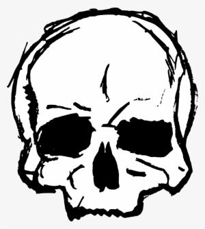 Free Download Skull Clip Art Transparent 432974 Skulls Drawing Skull Drawing Line Art Drawings