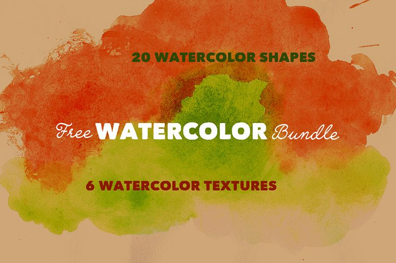 Free Watercolor Art Bundle Watercolor Art Watercolor Art