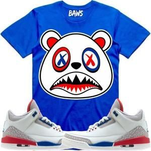 7bccfb9f613e Baws T-Shirt USA BAWS Sneaker Tees T-Shirts - Jordan 3 International Flight