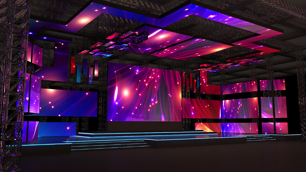 Pin By Tata Gurwita On Stage Set Concert Stage Design Stage Set Design Church Stage Design