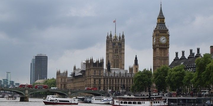 Houses of Parliament and Big Ben, London, England, Europe