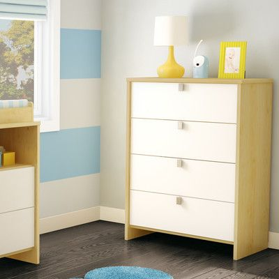 South Shore Cookie 4 Drawer Standard Chest | AllModern
