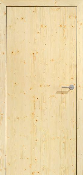 DANA oiled wooden door:. infoArchitekta.pl