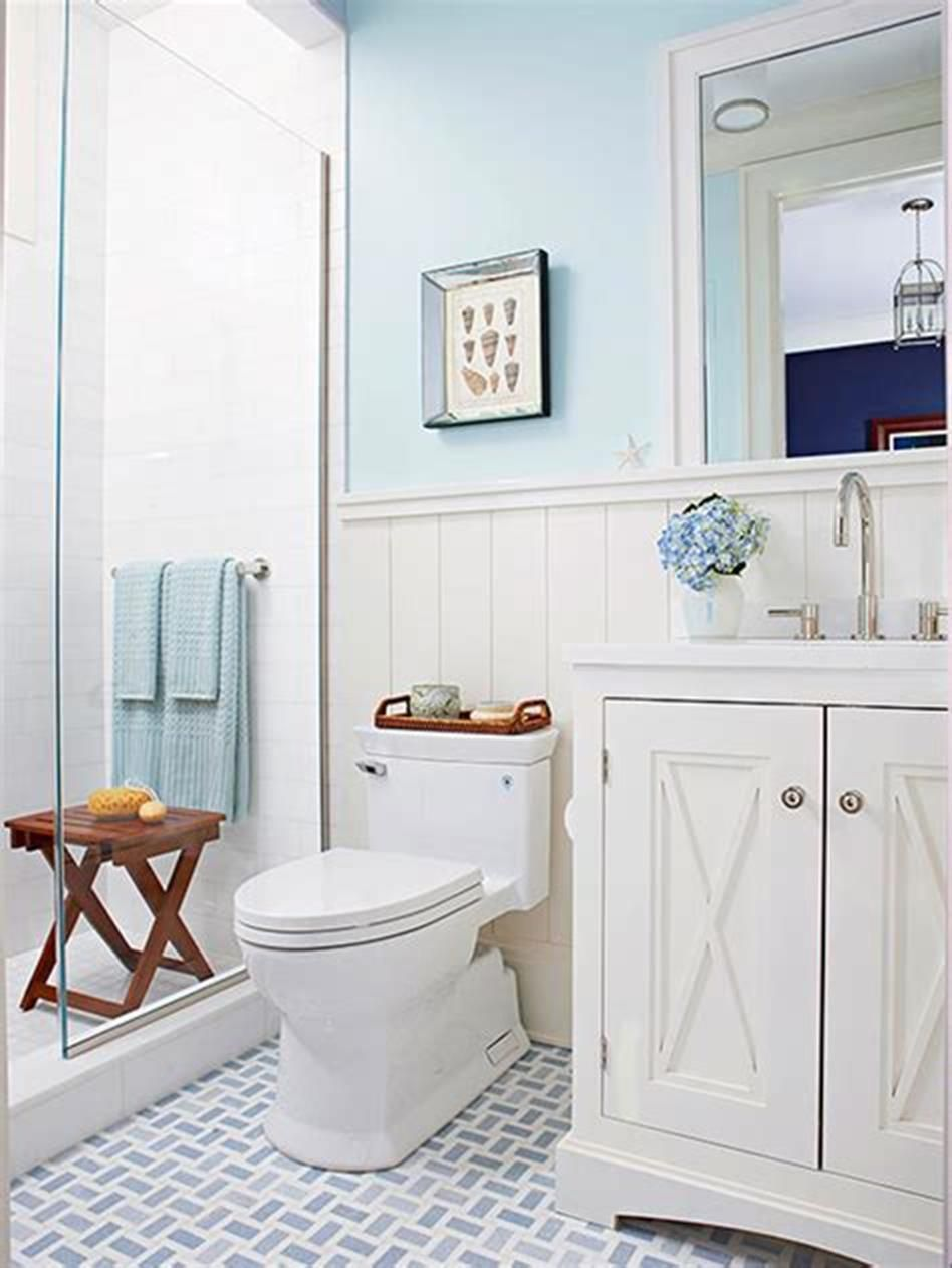 46 Best Country Bathroom Design And Decorating Ideas 2019 25 Homeandcraft Cottage Style Bathrooms White Bathroom Decor Cottage Bathroom