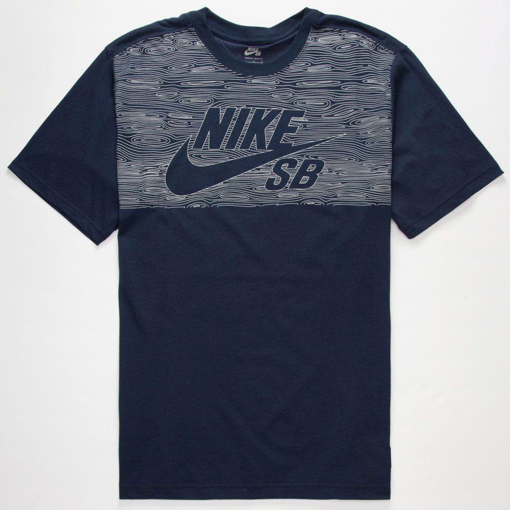NIKE SB Dri FIT Woodgrain Reflective Mens T Shirt 244417210