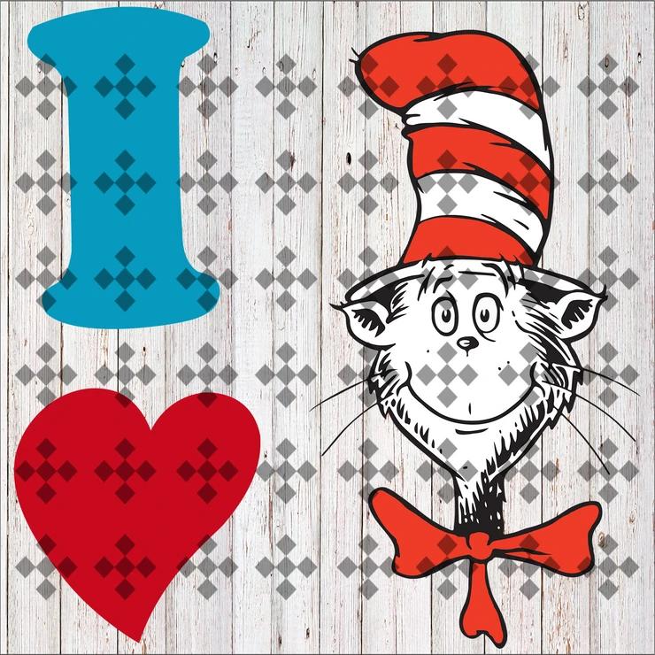 Download Love svg, love cat, cat svg, fishes svg, dr seuss svg, cat ...