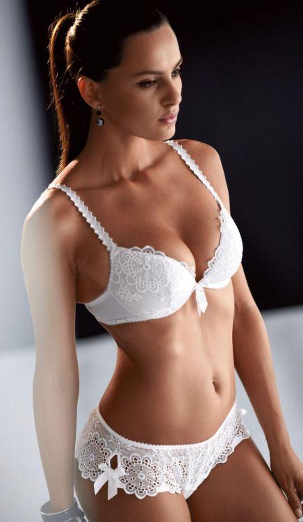 cd5aa3e5e Women in White. Bridal Lingerie Collection !