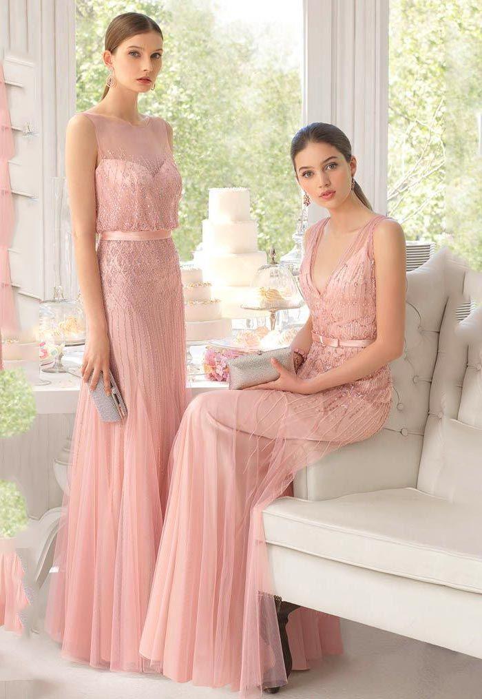 Vestidos de festa: tendência cor rosa blush | Pinterest | Vestido de ...